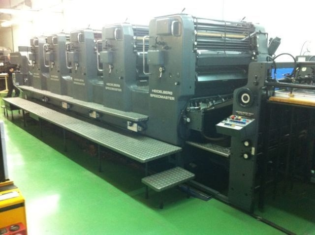 Speedmaster SM 102 F (straight machine) - excellent condition