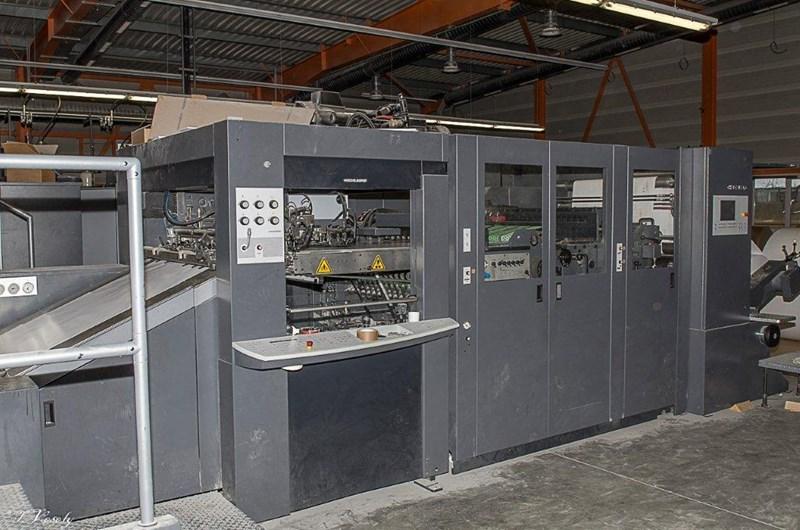 Speedmaster XL 105-8-P + LX with CutStar