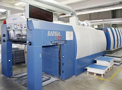 Rapida 105-5 + L ALV (CX) P40