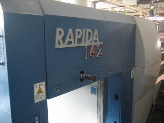 Rapida 142-5 + L