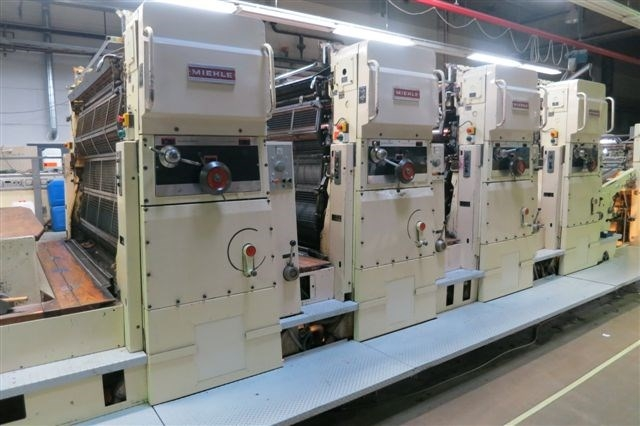 78'' 4-colour and 2-colour / Excellent Poster Printing Machine