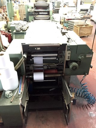 Form Printing Machine Muller Martini Grapha Pronto RP