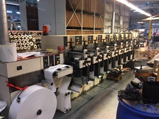 NilPeter F-2400- 8 colour Flexo printing UV