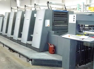HEIDELBERG CD 74-5+LX, UV/ IR Hybrid equipment