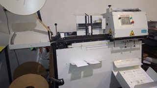Renz Mobi 500 Wire Binding Machine + Renz Punch 500 ( 4 sets ) 2010 year