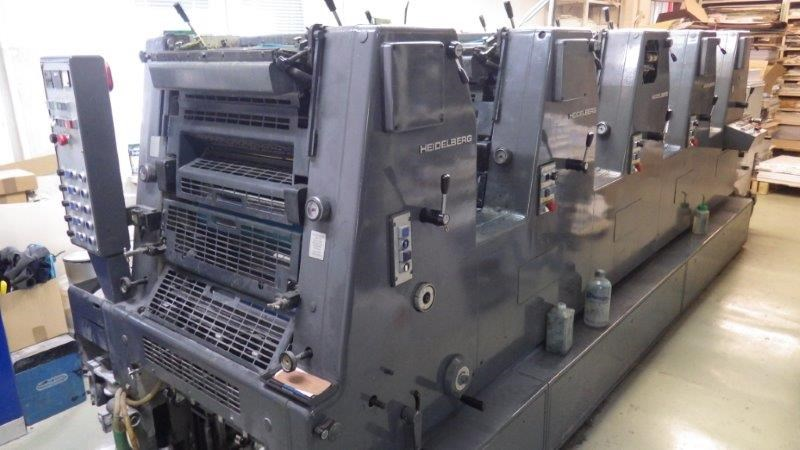 Heidelberg GTOF , 1991 year - 5 colours printing machine