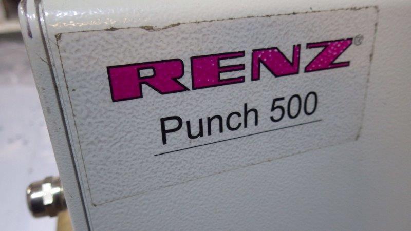 Used Renz Mobi 500 Wire Binding Machine Renz Punch 500