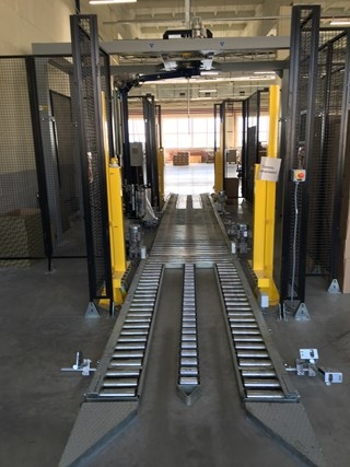 RoboPac Sistemi Shrink wrapper and logistics packing