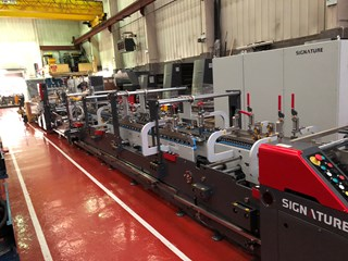 Signature Premier 110 CS Folder Gluer