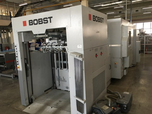 Used Bobst 106 LE VisionCut Year 2013