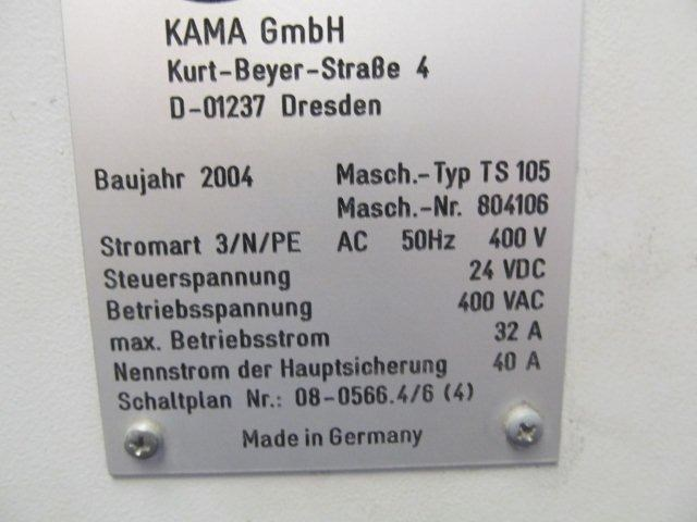 KAMA TS 105 Automatic Die Cutter