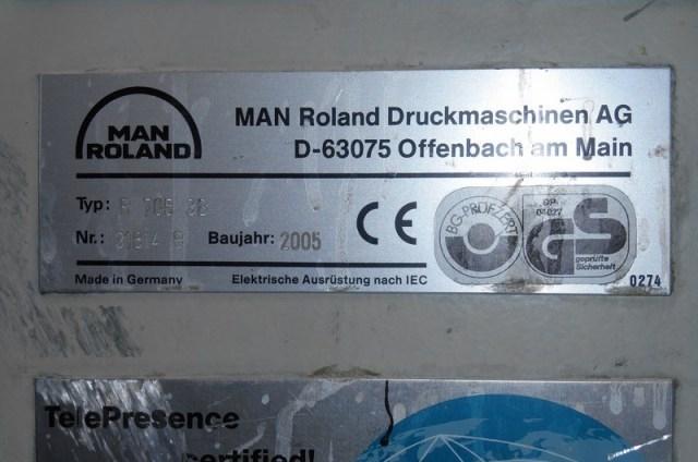ManRoland 705-3B+LV HiPrint