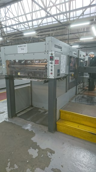 Bobst SP 102-E Automatic Die Cutter
