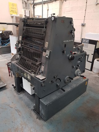 Heidelberg GTO 52-1 Plus with Numbering and Perforating Unit