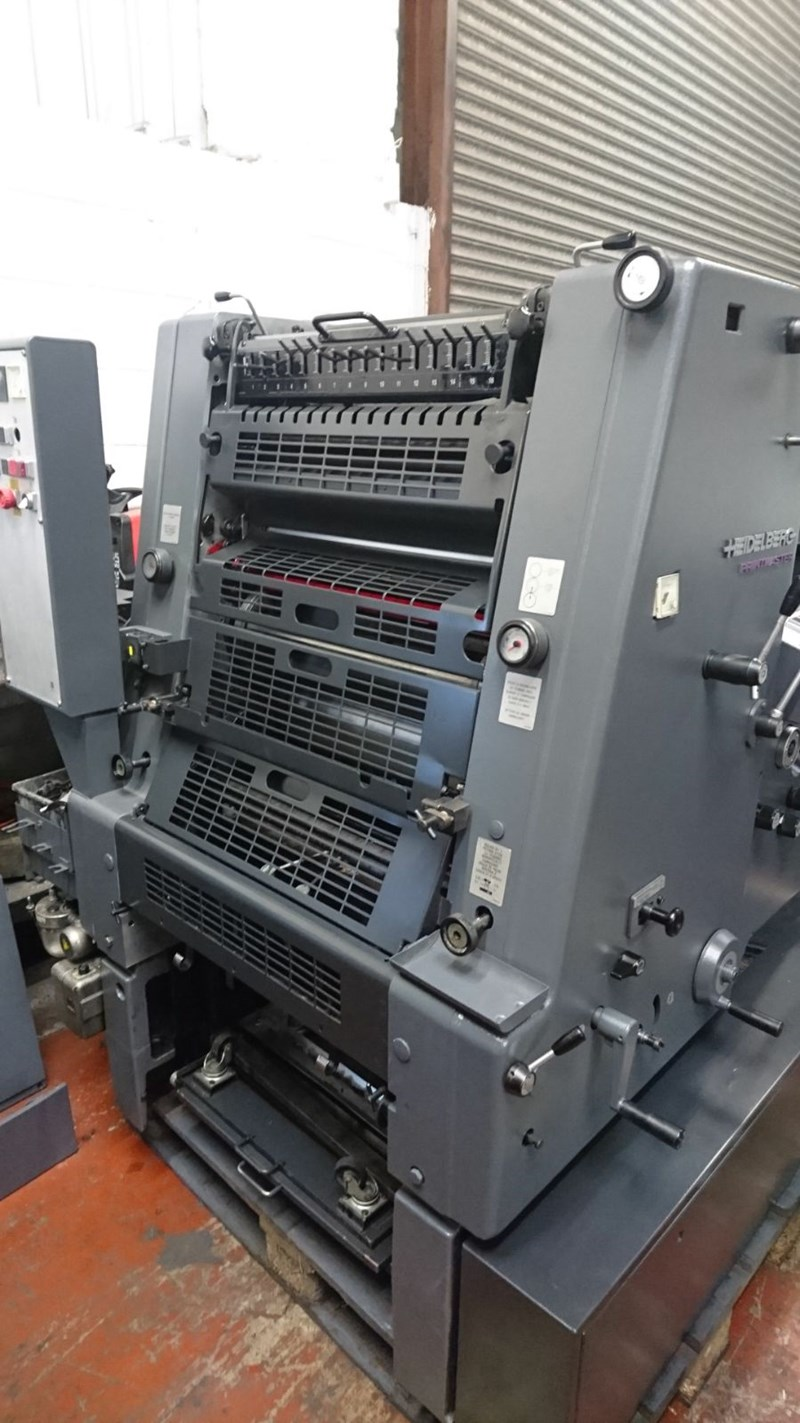 Heidelberg gto 52 single color