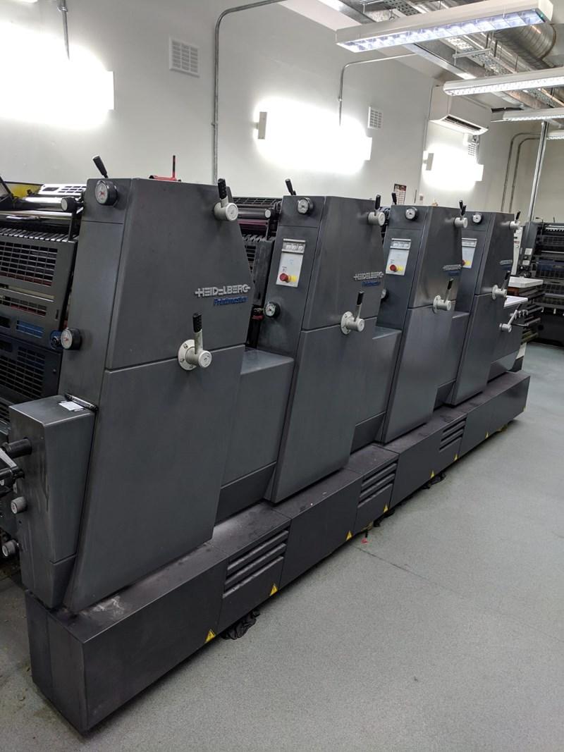 Heidelberg Printmaster GTO 52 4