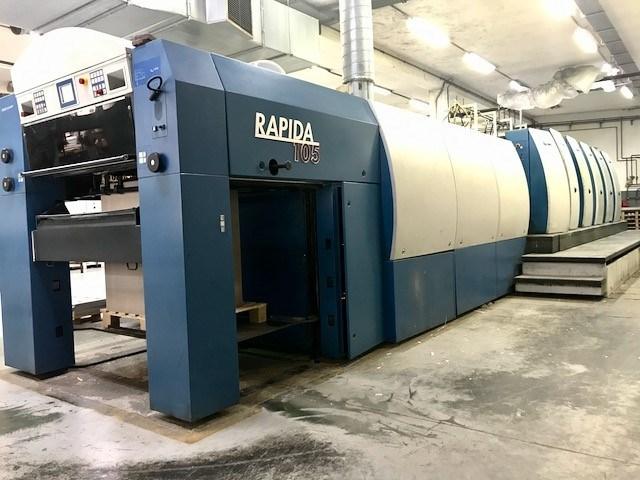 KBA Rapida 105 5 L