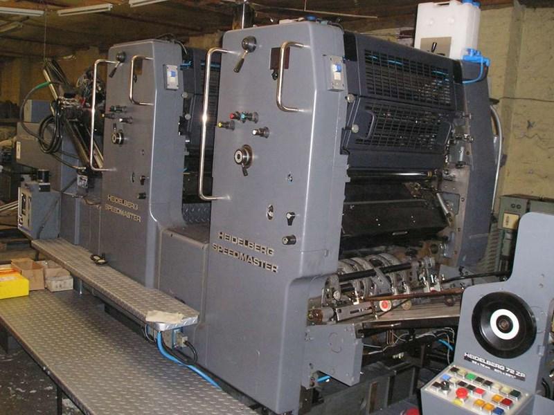 Heidelberg Speedmaster 72 ZP