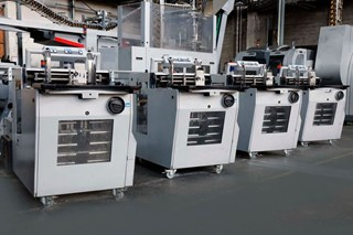 Ferag Mail Room System with SIS 27G Control Panel & LIM