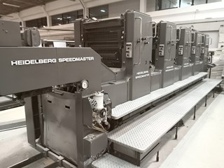 1990 Heidelberg Speedmaster 72F