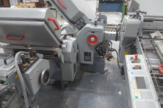 Stahl TD66 combination folding machine