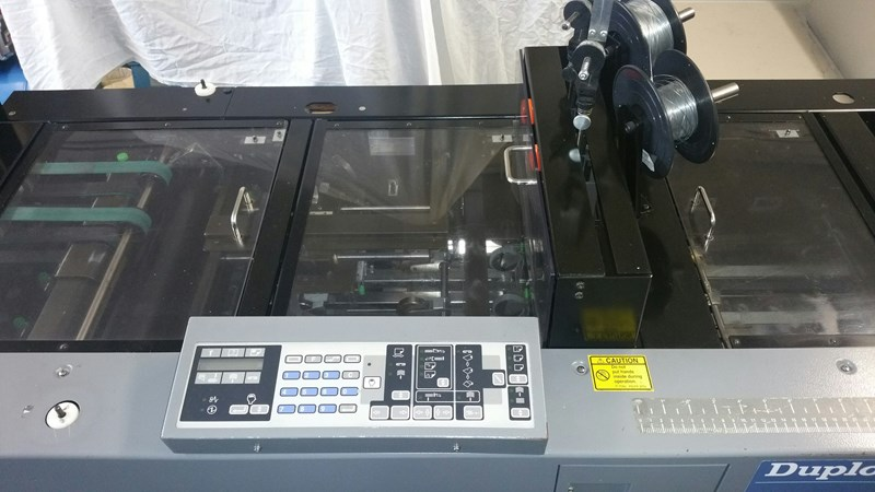 Duplo System 5000 Collator with System 4000 Trimmer & Booklet Maker