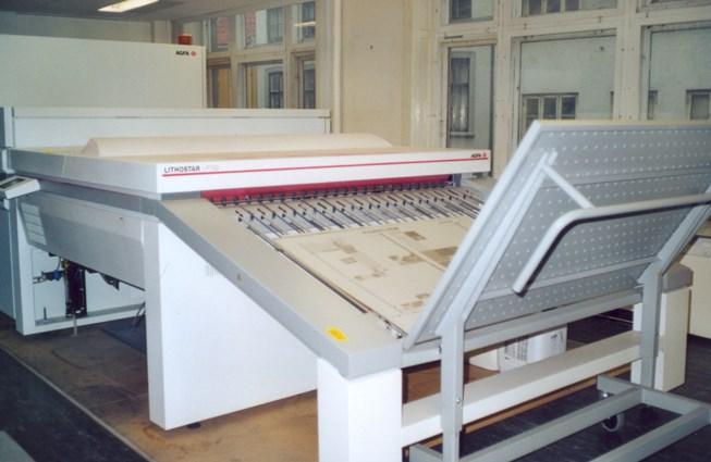Agfa Galileo Platesetter