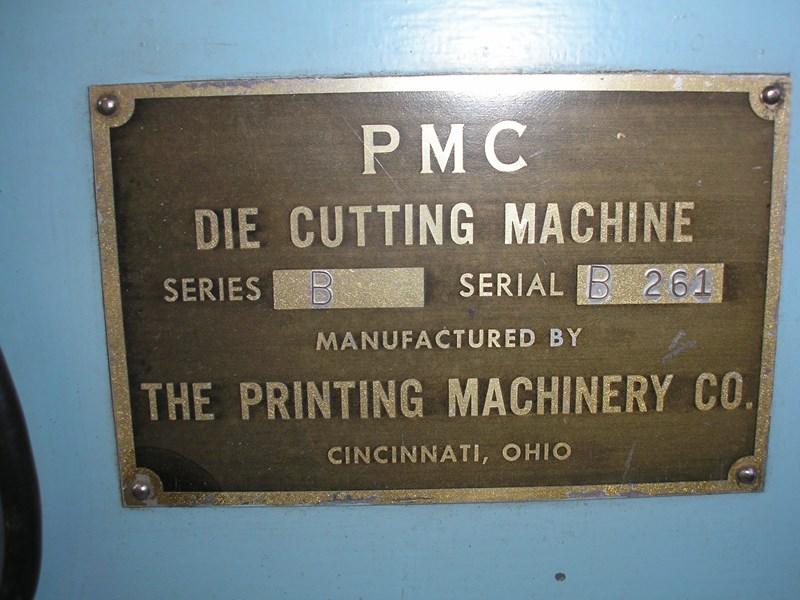 PMC Die Cutting Machine
