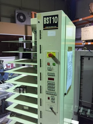 CP Bourg 10 Bin Suction Collator BST 10