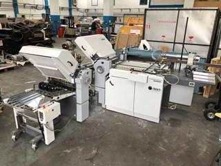 Heidelberg Ti52 4-4 folding machine