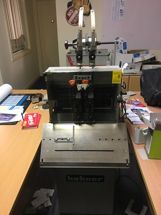 Hohner Exact 2 Headed Stitching Machine