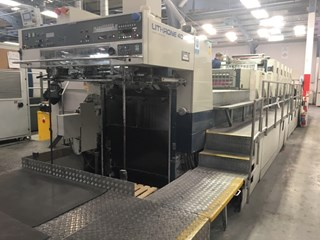Komori Lithrone L 640 Double Coater