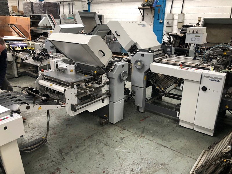 Heidelberg Ti 55 4-4-K Folding Machine