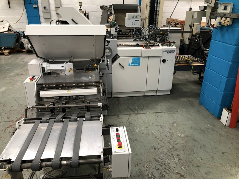 Heidelberg Ti 55 4-4-K Folding Machine