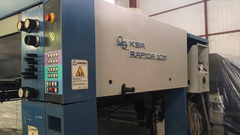 KBA RAPIDA 105-5+L CX ALV2