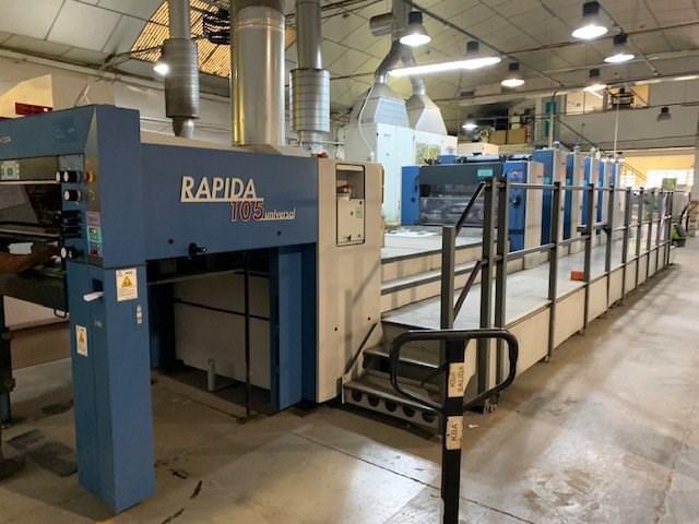 KBA Rapida 105-5+L CX ALV2 UV