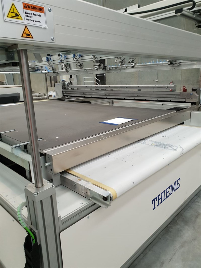Thieme 3070 Vision Screen Printer with Vision Screen Alignment System