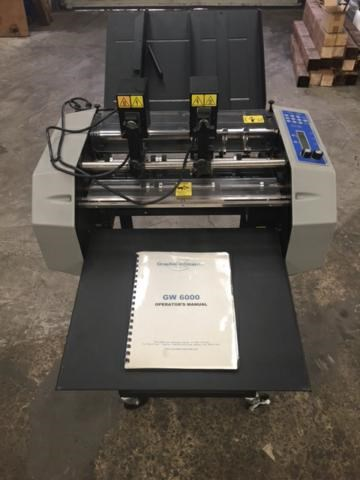 Graphic Whizard 6000 Numbering/Perforating/Slitting/Scoring