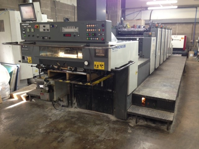 Komori Lithrone L528+C