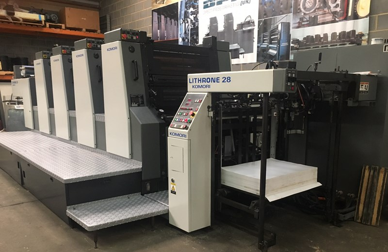 Komori Lithrone L428 EH