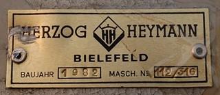 Herzog and Heymann  KL112 - 25/6