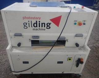 Photostory Gilding edge gilding machine for books