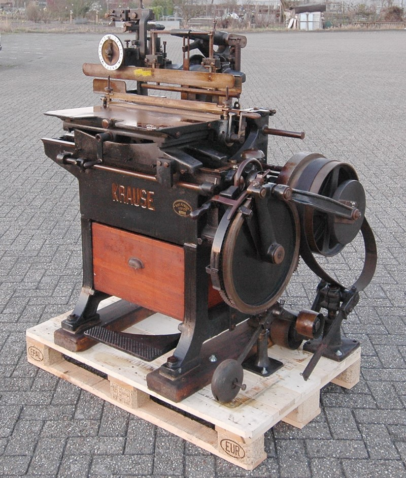 Krause Book press