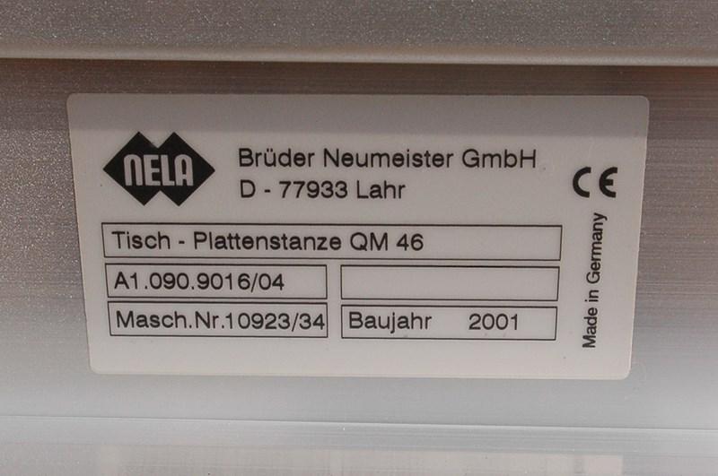 Heidelberg 220MM platepunch