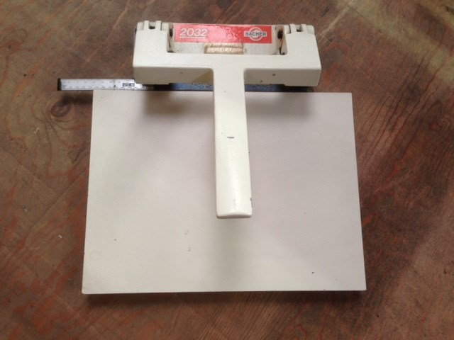 Bacher Plate Punch