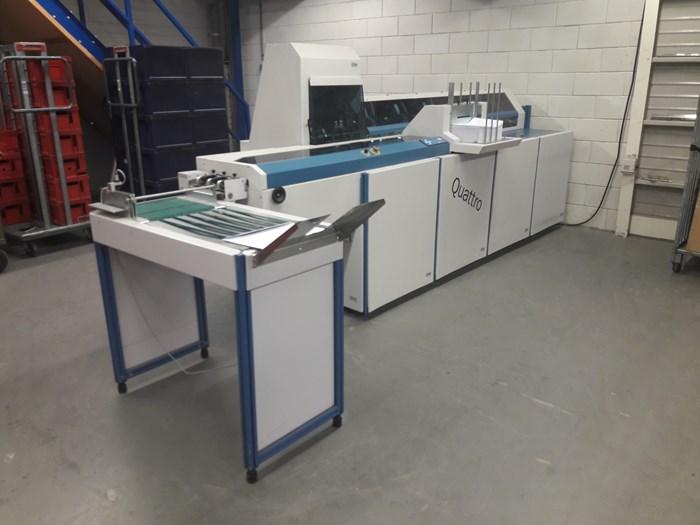Böwe Systec Quatro Inserting Machine
