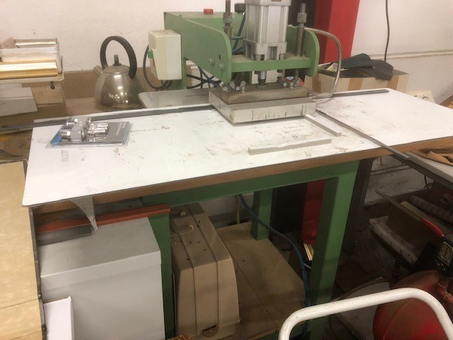 Foil print machine
