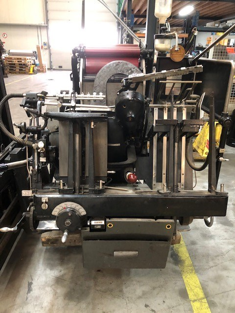 Heidelberg Tiegel OHT - model 120