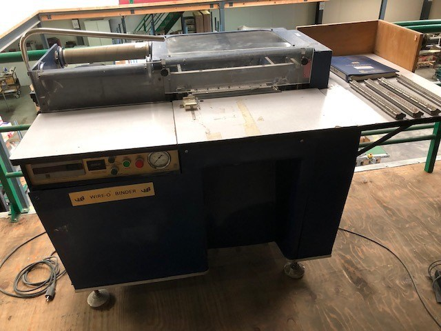 James Burn BB32-37CD Wire O Binding Machine
