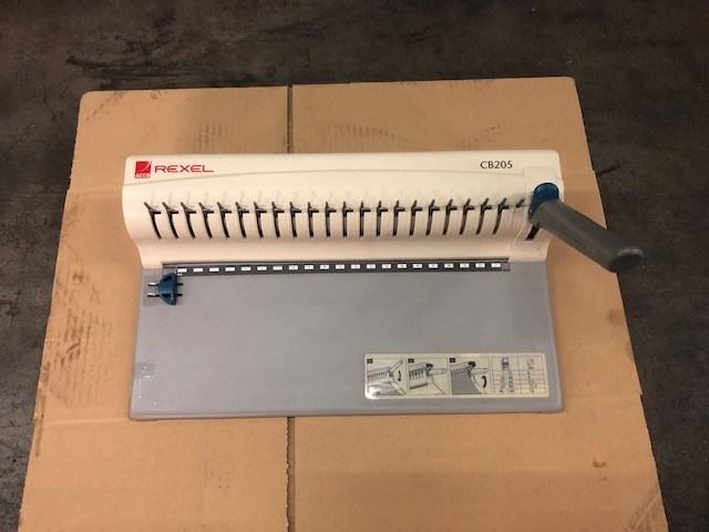 Relex CB 205 Compact Comb Binding machine